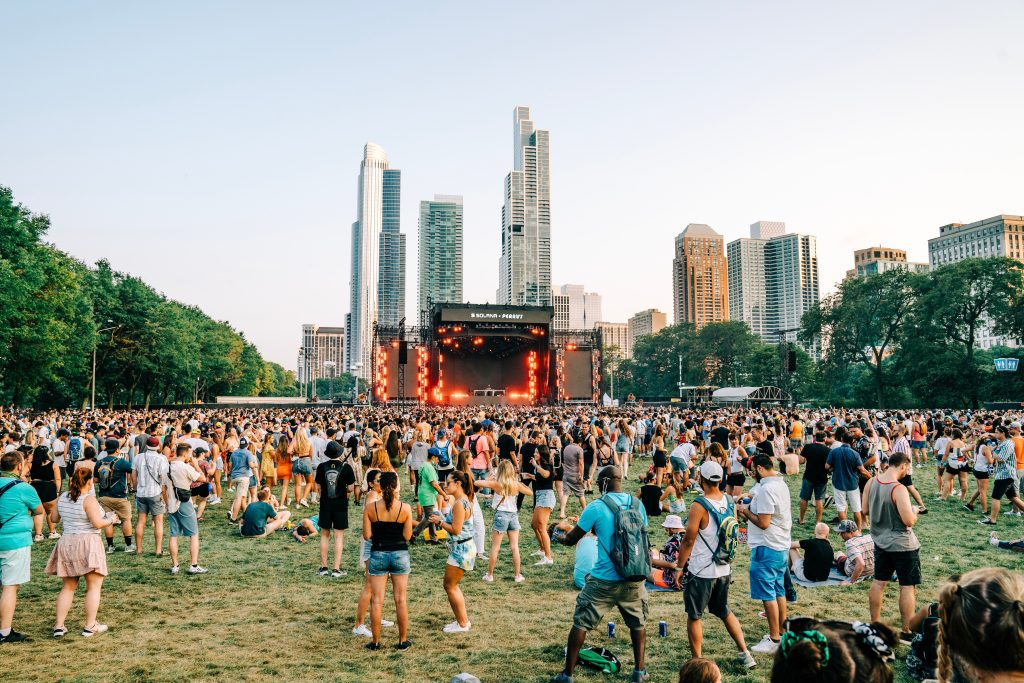 Experience by Pooneh Ghana for Lollapalooza