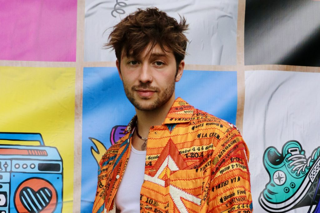 Christian French is creating his best music yet Lolla Interview